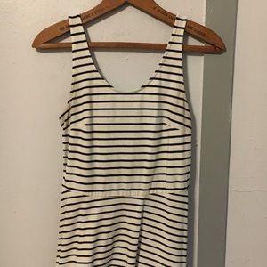 🖤Black and White Striped Dress🖤